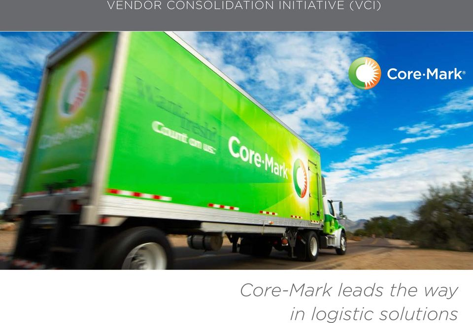 Core-Mark leads the