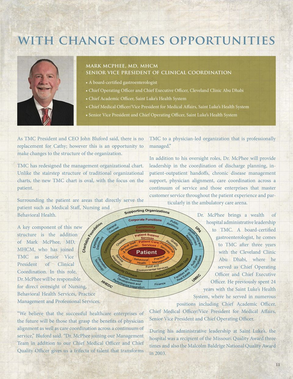 Fall 2012 PINNACLE THE MAGAZINE ABOUT TRUMAN MEDICAL CENTERS