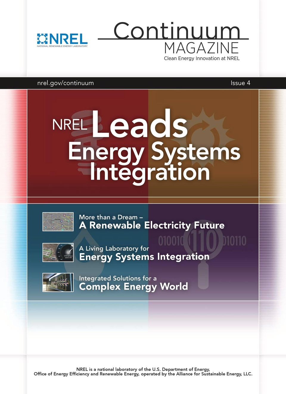 a Complex Energy World NREL is a national laboratory of the U.S.