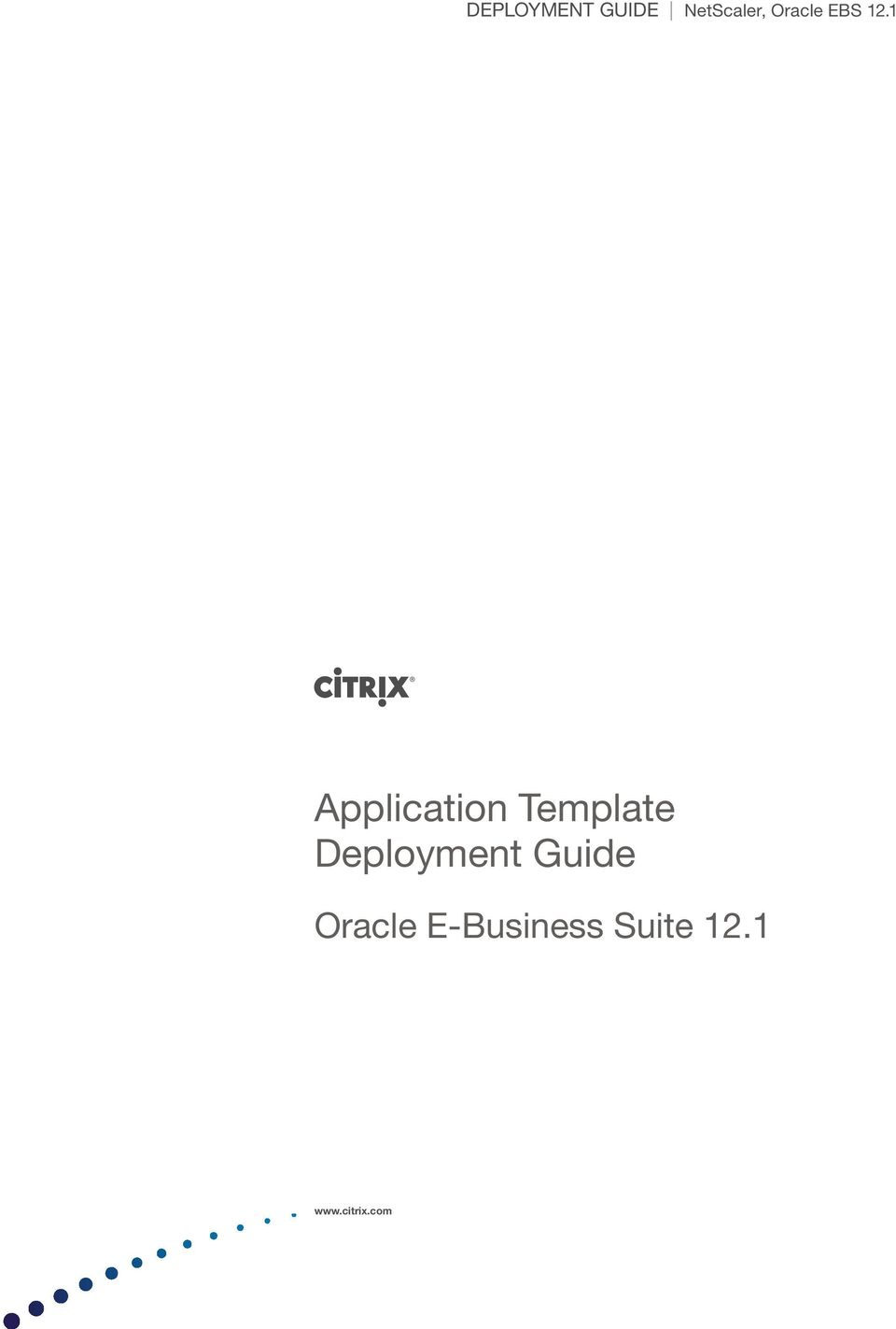 1 Application Template