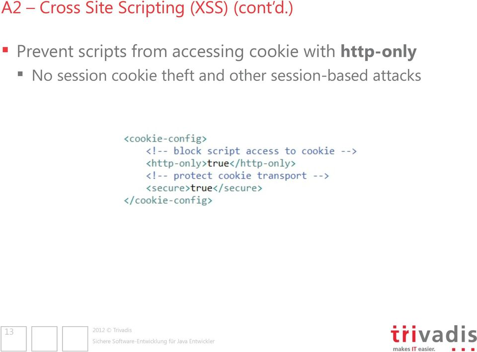 cookie with http-only No session