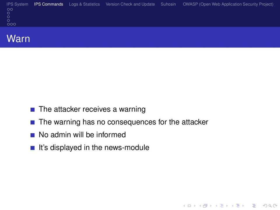 the attacker No admin will be