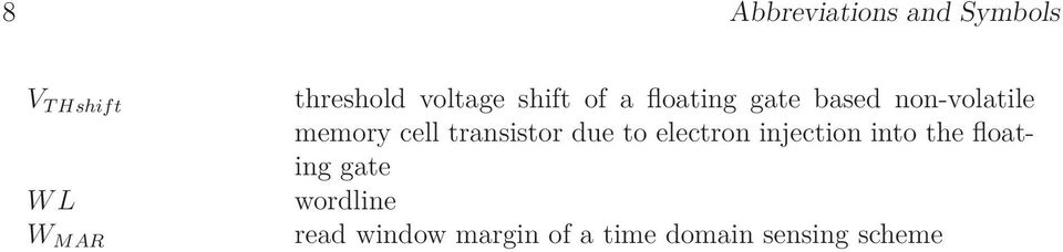 cell transistor due to electron injection into the floating