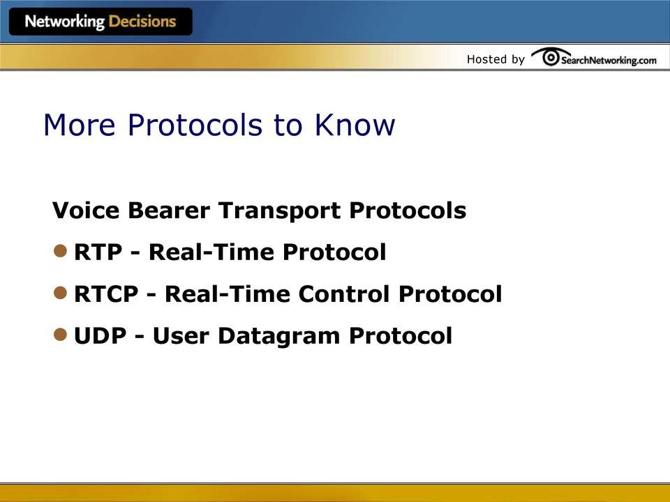 Protocol RTCP - Real-Time Control
