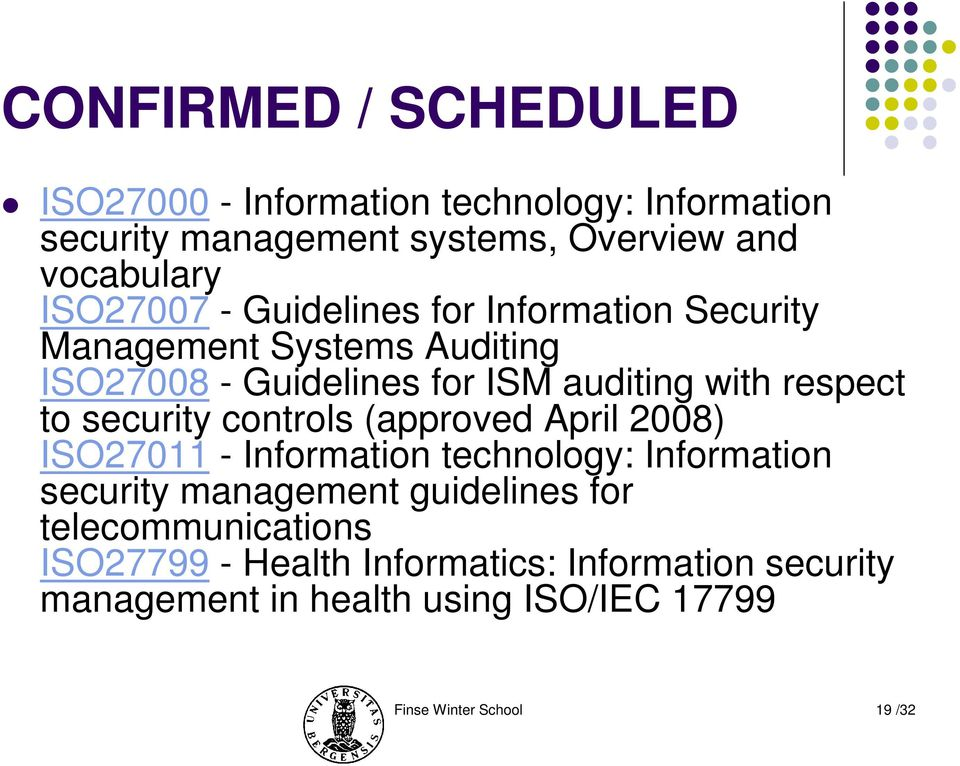 information systems security and control Managing and controlling information systems production control in data centers 7 information system security is the integrity and safety of its resources.