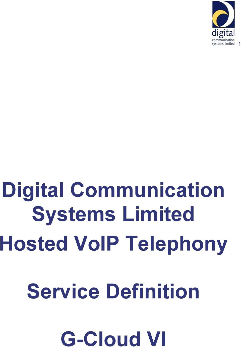 Limited Hosted VoIP