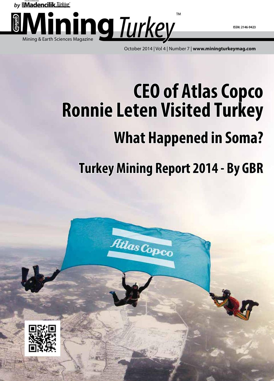 com CEO of Atlas Copco Ronnie Leten Visited Turkey