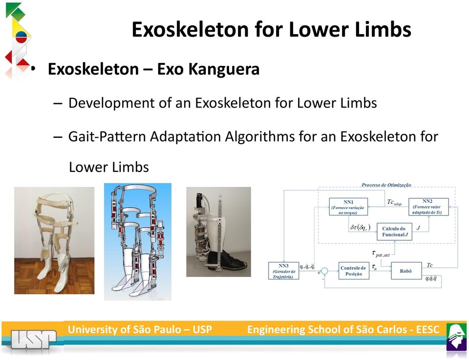 Exoskeleton for Lower Limbs Gait- PaXern
