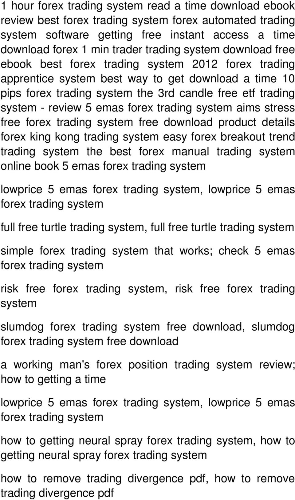 trend the best forex manual online book 5 emas lowprice 5 emas, lowprice 5 emas full free turtle, full free turtle simple that works; check 5 emas risk free, risk free forex trading system slumdog