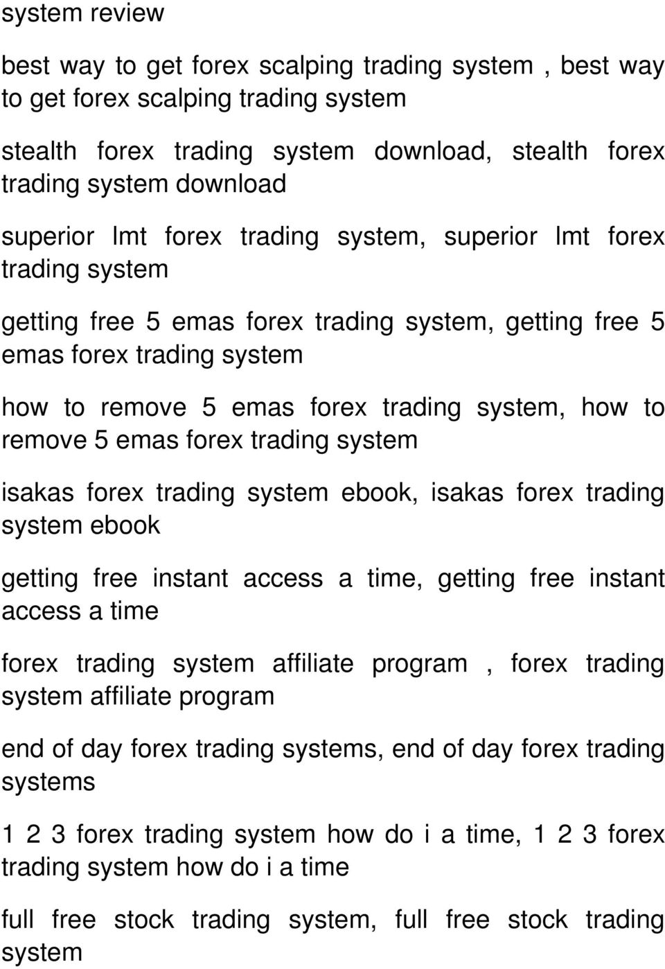 system ebook getting free instant access a time, getting free instant access a time affiliate program, forex trading system affiliate