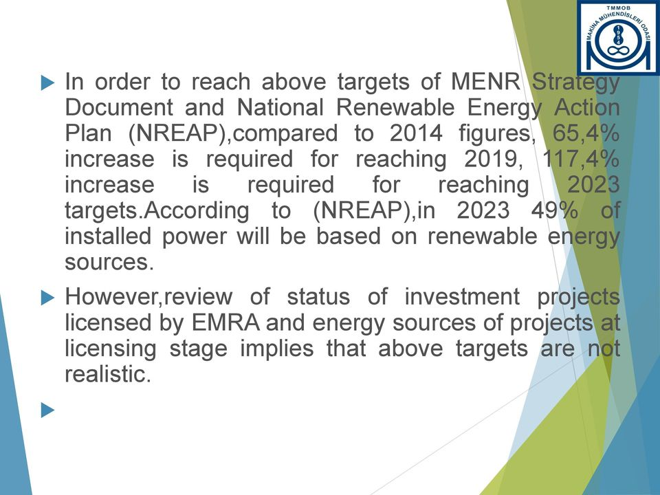 according to (NREAP),in 2023 49% of installed power will be based on renewable energy sources.