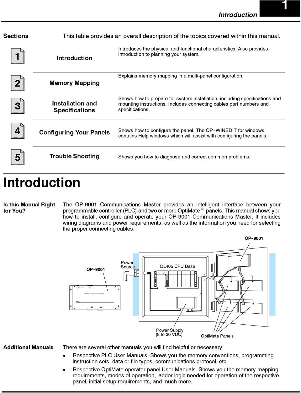 Shows how to prepare for system installation, including specifications and mounting instructions. Includes connecting cables part numbers and specifications.