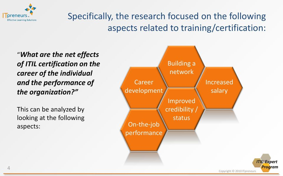 Itil Certification Performance And Career Booster Or Myth Pdf
