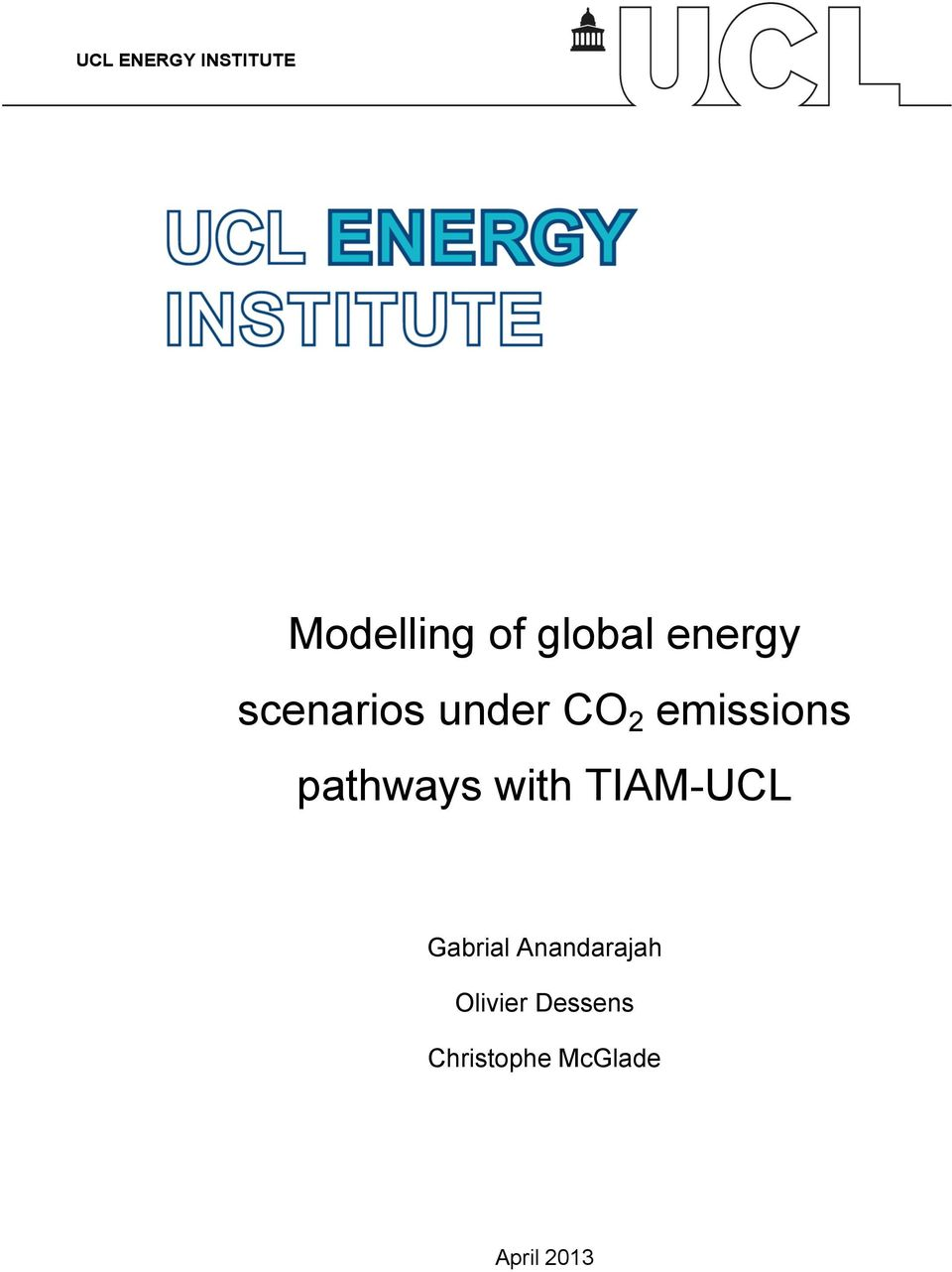 pathways with TIAM-UCL Gabrial
