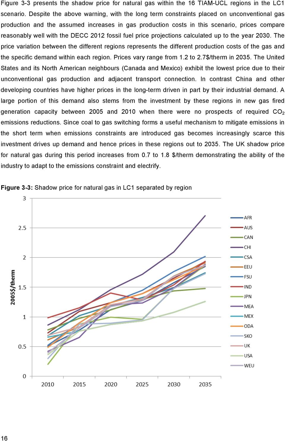 with the DECC 2012 fossil fuel price projections calculated up to the year 2030.