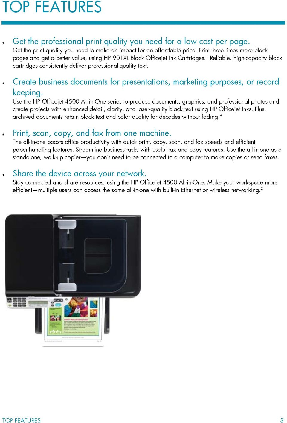 Create business documents for presentations, marketing purposes, or record keeping.