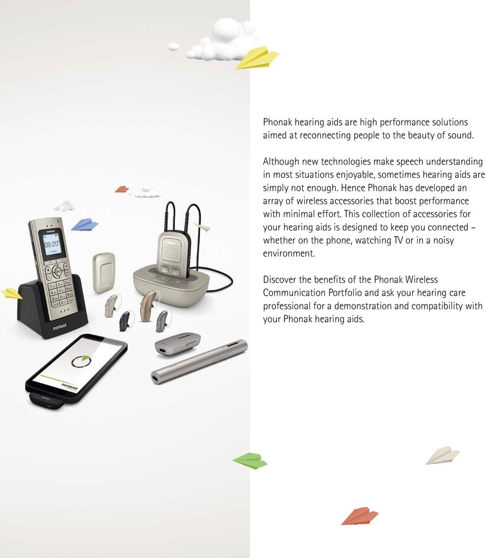 Phonak Hearing Aids Wireless Accessories Wire Center Bosch Board Electronic Circuit 00415292 From Appliancepartsproscom Boost The Performance Of Your Rh Docplayer Net Premium