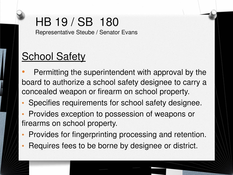 Specifies requirements for school safety designee.