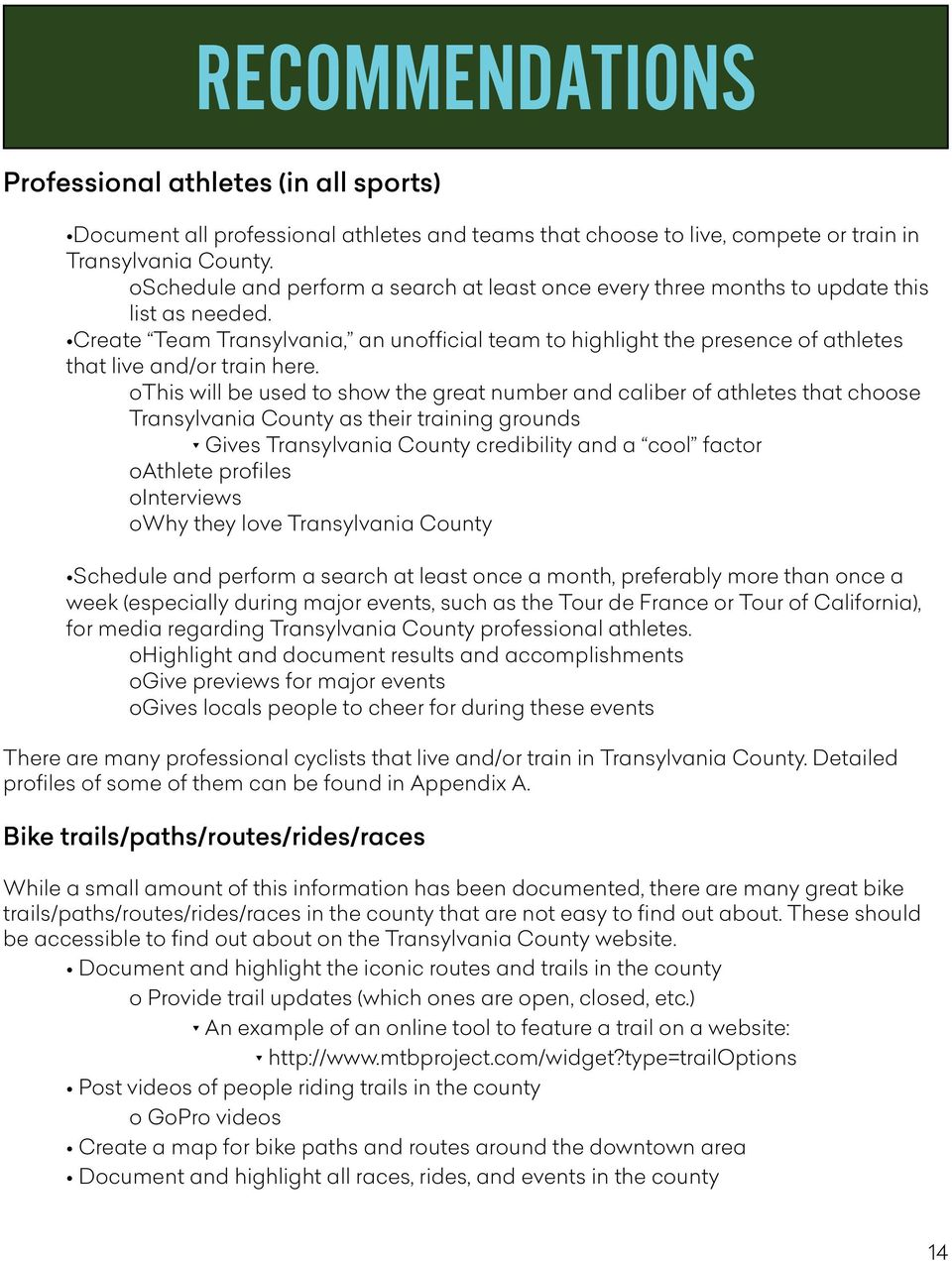 Create Team Transylvania, an unofficial team to highlight the presence of athletes that live and/or train here.