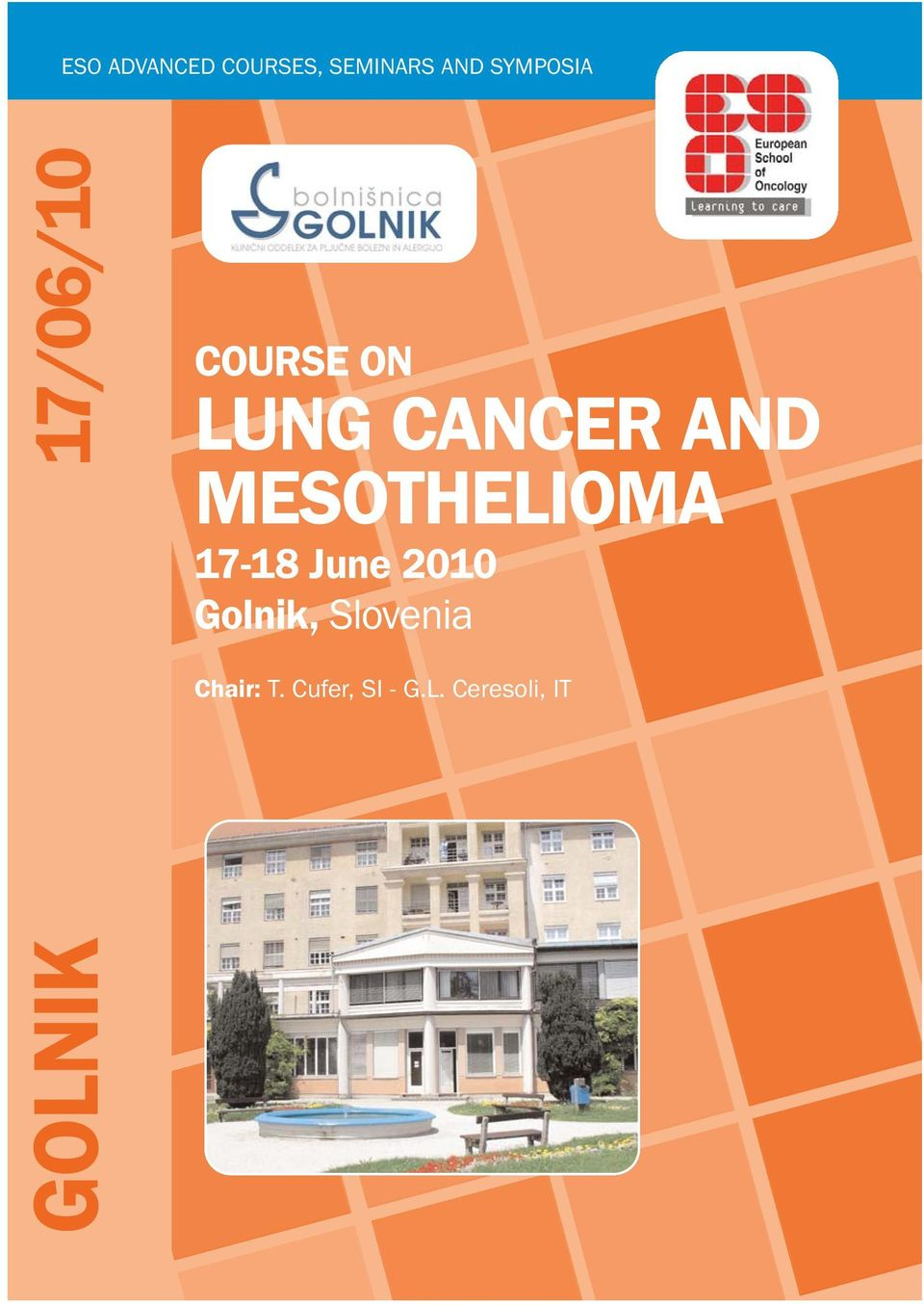 CANCER AND MESOTHELIOMA 17-18 June 2010
