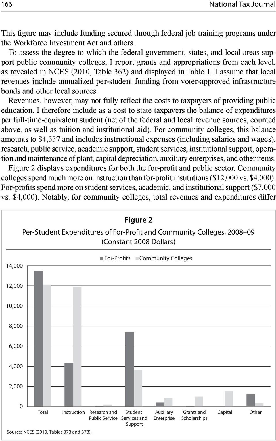 362) and displayed in Table 1. I assume that local revenues include annualized per-student funding from voter-approved infrastructure bonds and other local sources.