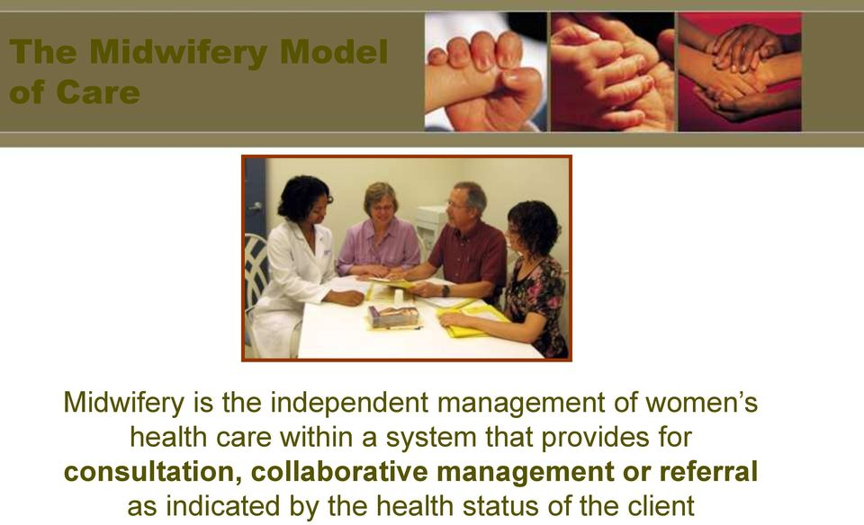 system that provides for consultation, collaborative