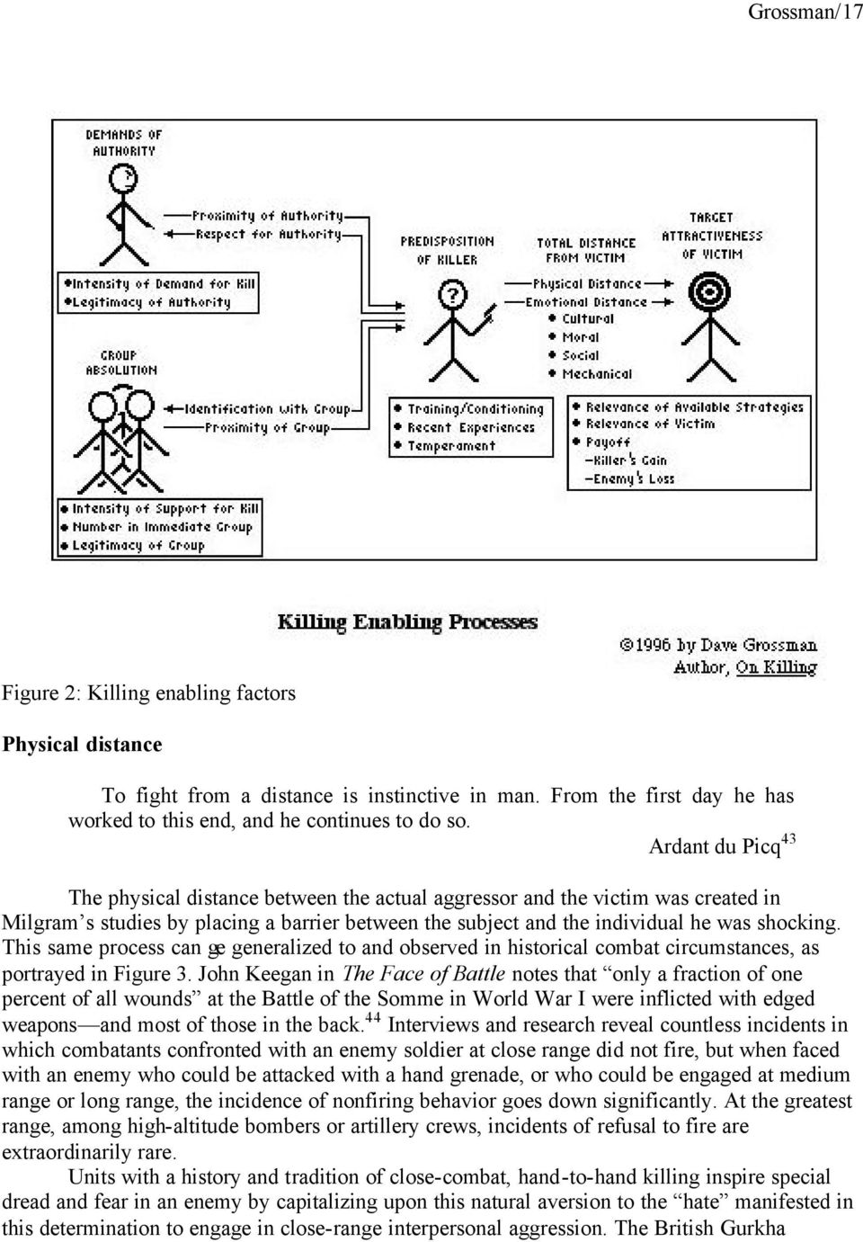 This same process can ge generalized to and observed in historical combat circumstances, as portrayed in Figure 3.