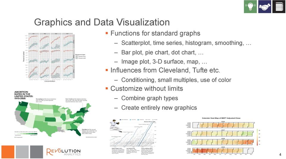 surface, map, Influences from Cleveland, Tufte etc.