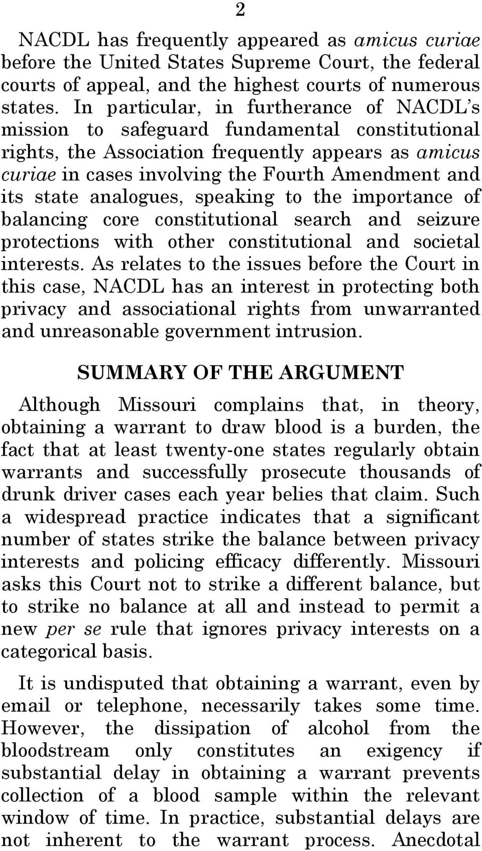 state analogues, speaking to the importance of balancing core constitutional search and seizure protections with other constitutional and societal interests.