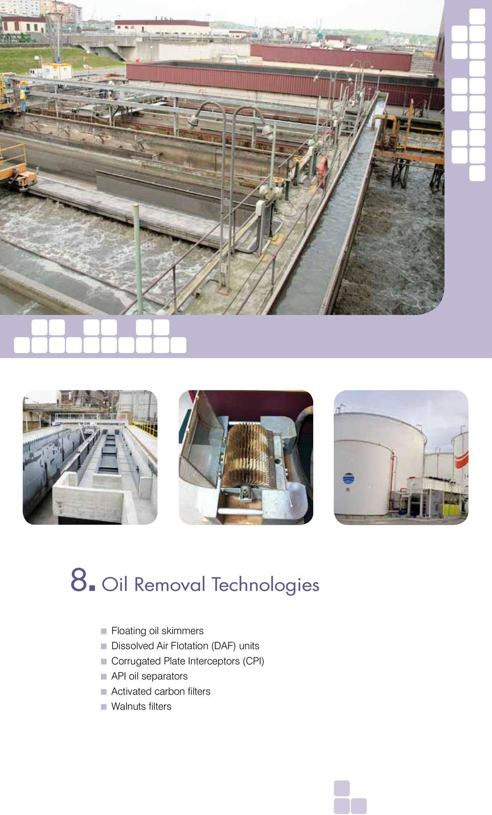 water treatment engineering services PETROCHEMICAL - PDF