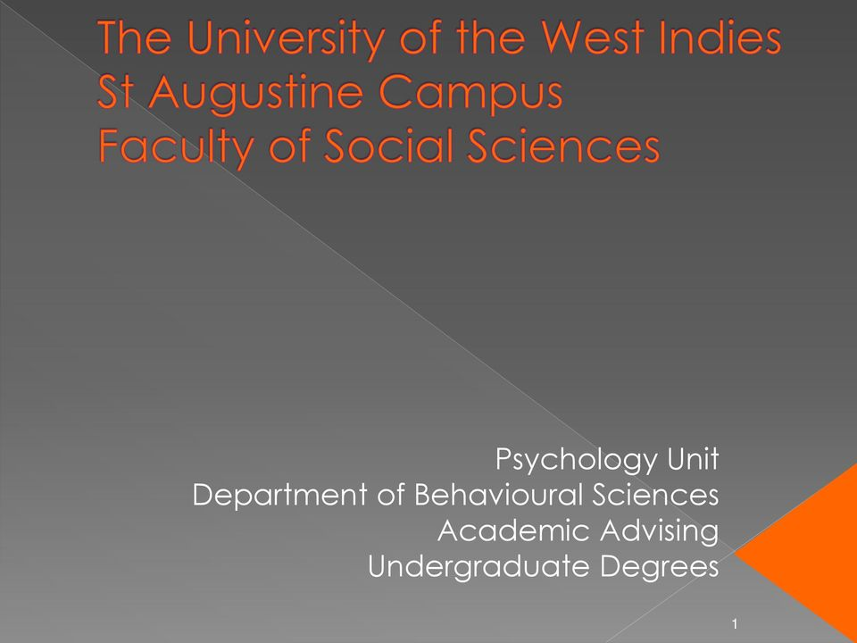 Behavioural Sciences