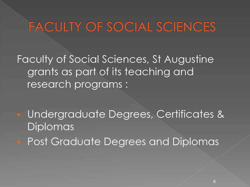 programs : Undergraduate Degrees,
