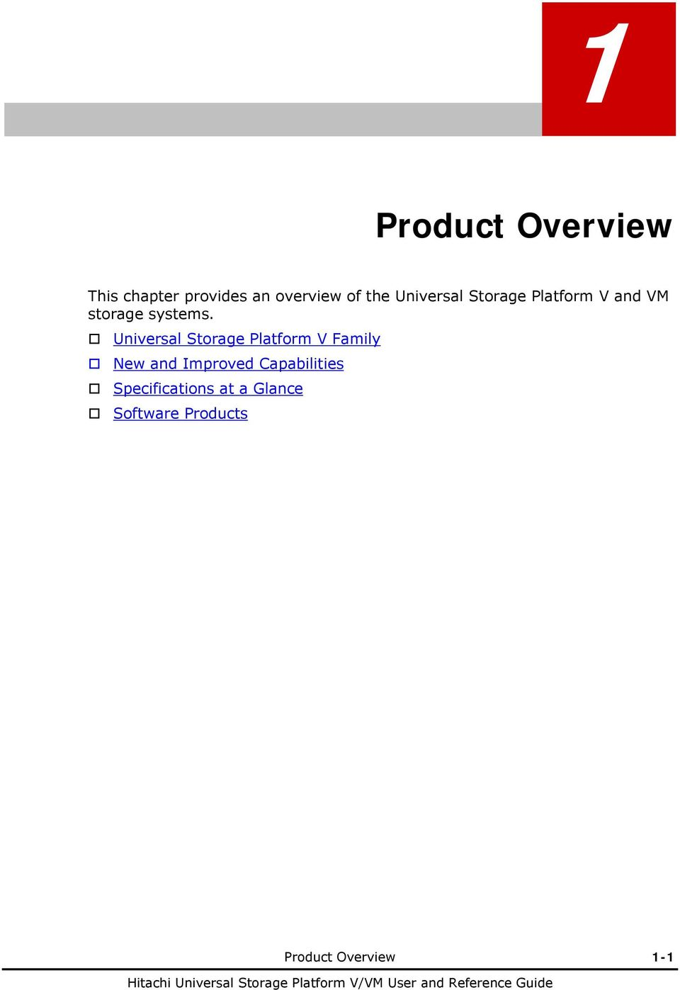 Universal Storage Platform V Family New and Improved