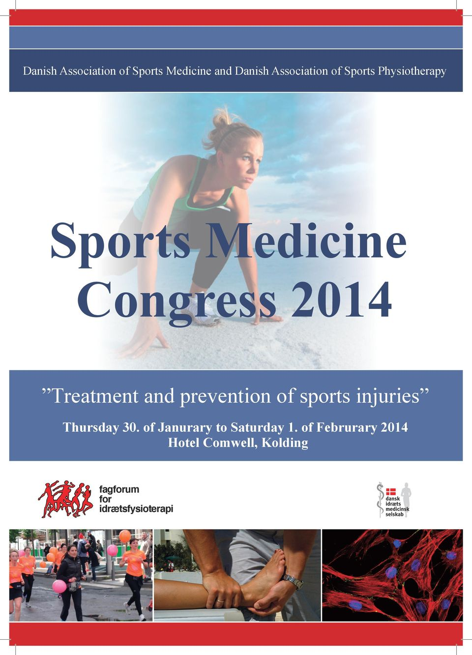 prevention of sports injuries Thursday 30.