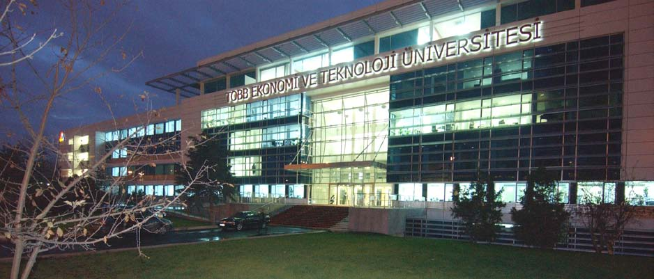 Figure 1. Main building of TOBB University of Economics and Technology Campus and Facilities: TOBB ETU has a campus in the city center of Ankara (Figure 1).