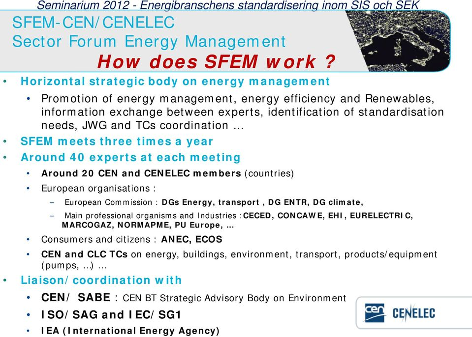 : How does SFEM work?