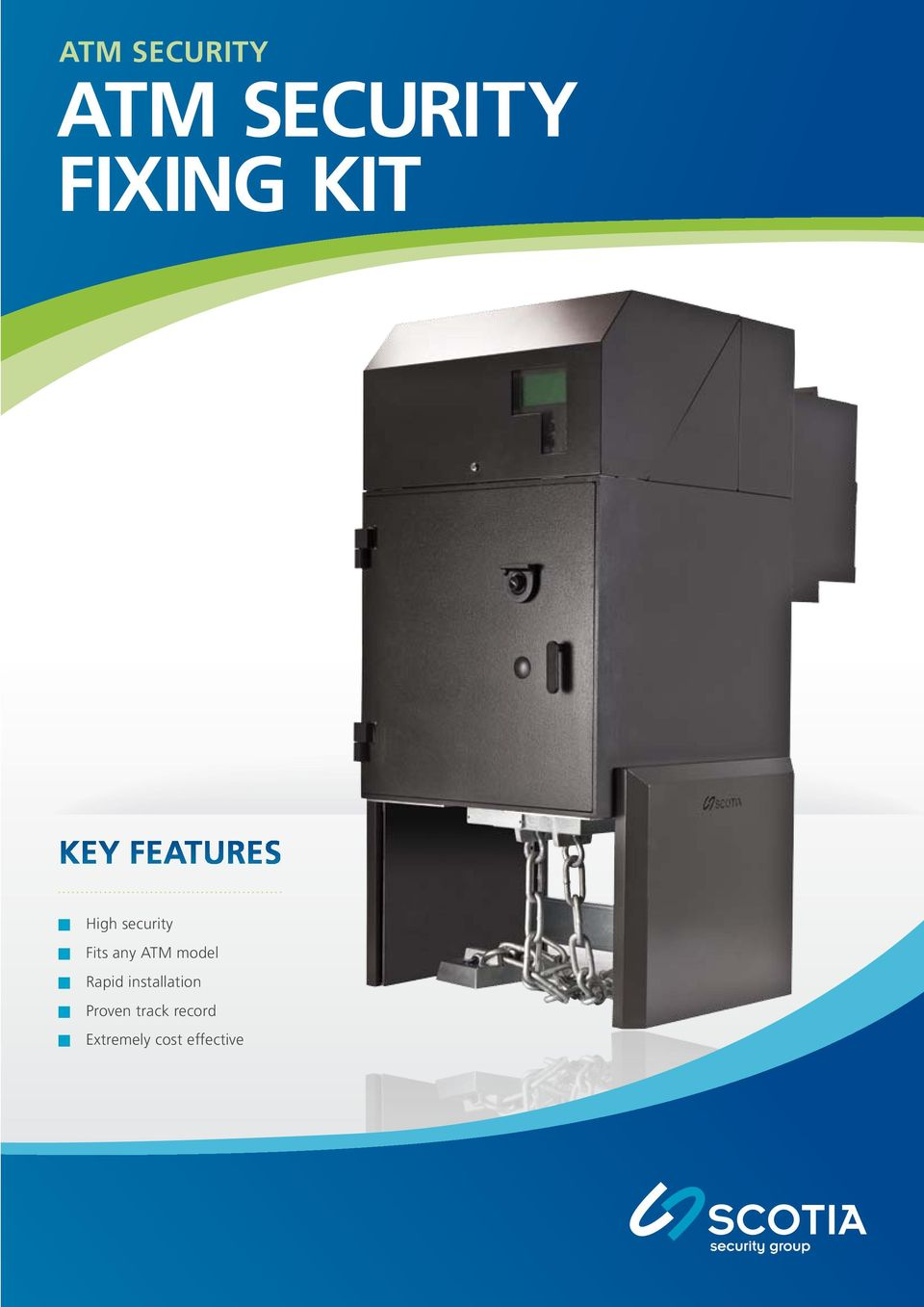 ATM model Rapid installation Proven