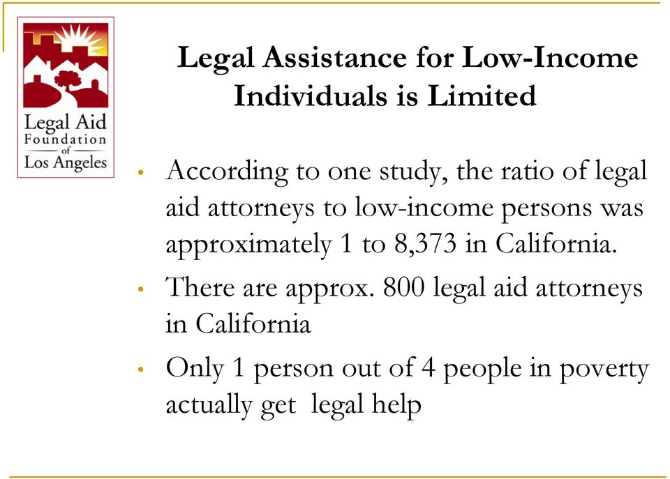 approximately 1 to 8,373 in California. There are approx.