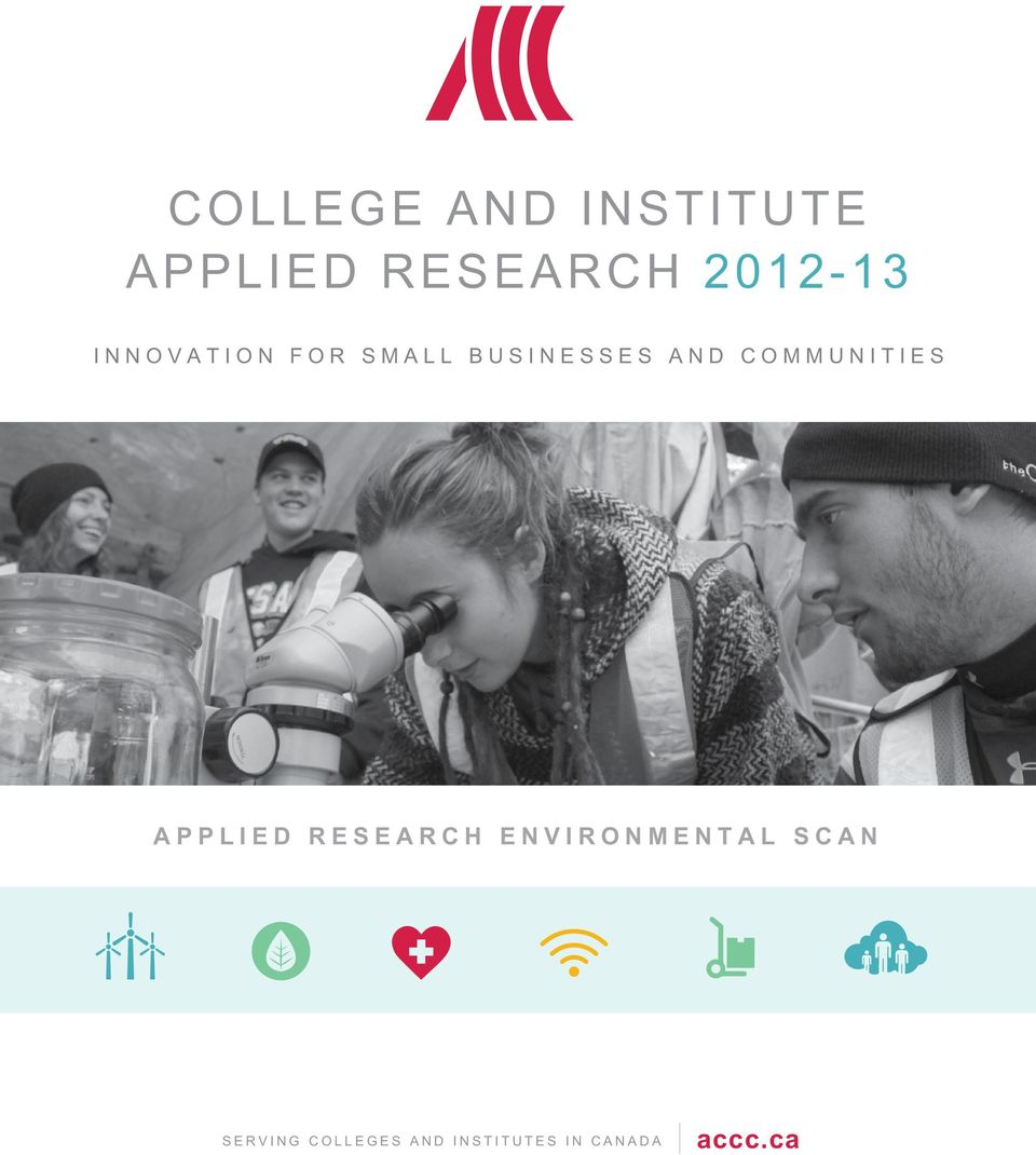 COMMUNITIES APPLIED RESEARCH ENVIRONMENTAL