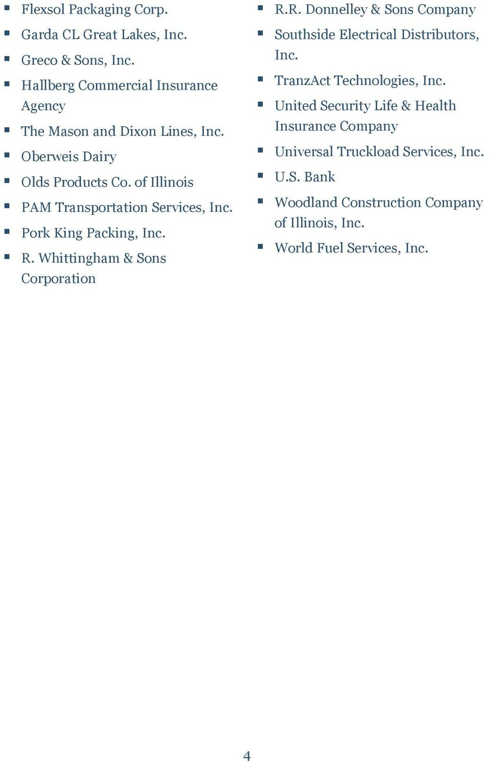 of Illinois PAM Transportation Services, Inc. Pork King Packing, Inc. R.