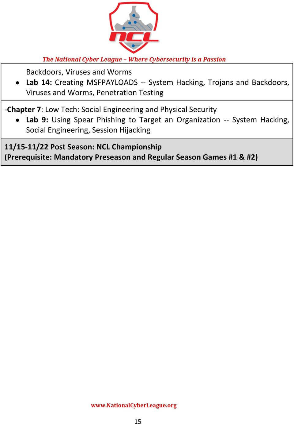 9: Using Spear Phishing to Target an Organization - - System Hacking, Social Engineering, Session Hijacking