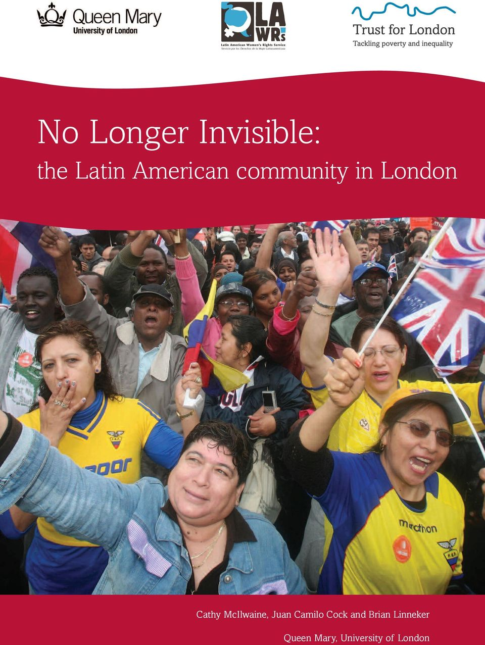 American community in London Cathy McIlwaine,