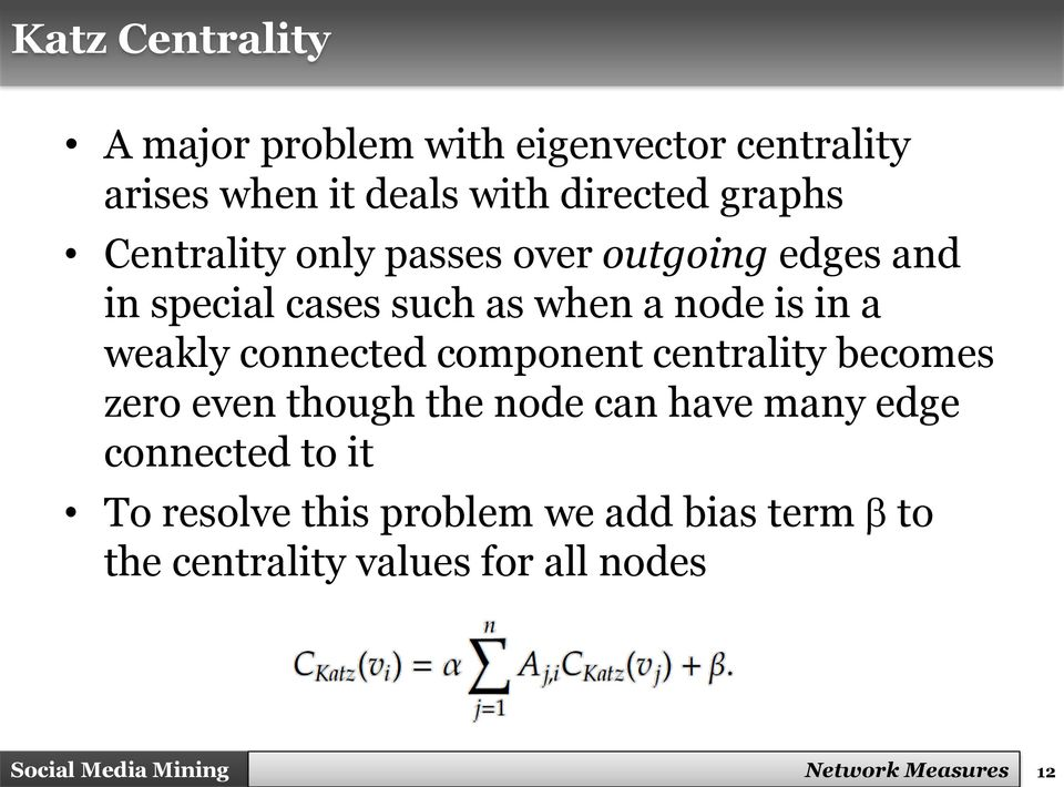 weakly connected component centrality becomes zero even though the node can have many edge connected