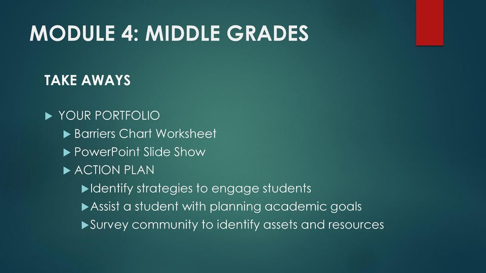 strategies to engage students Assist a student with planning