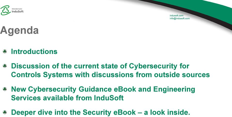 sources New Cybersecurity Guidance ebook and Engineering Services