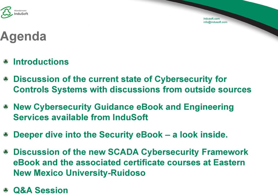 from InduSoft Deeper dive into the Security ebook a look inside.