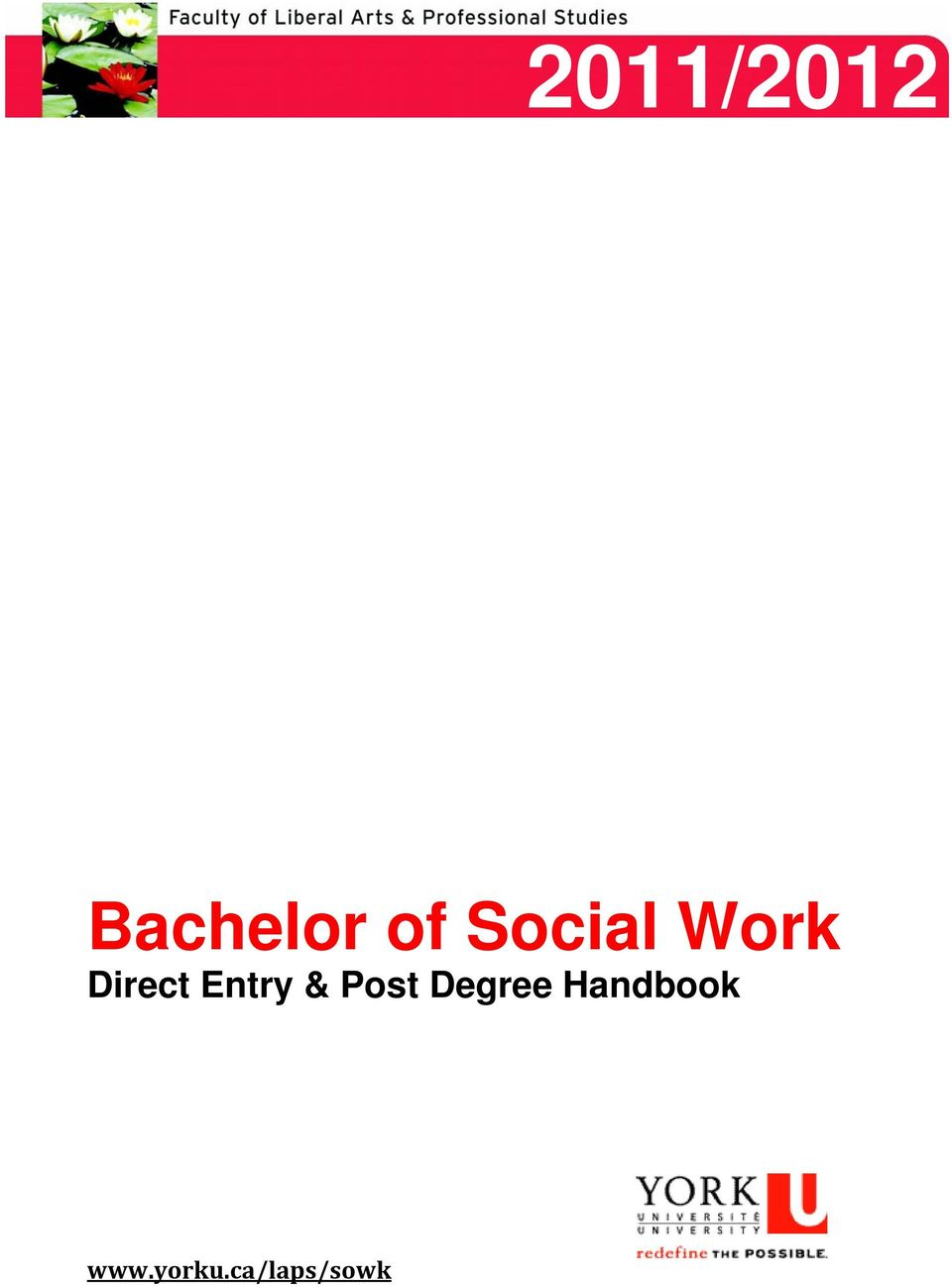 Entry & Post Degree