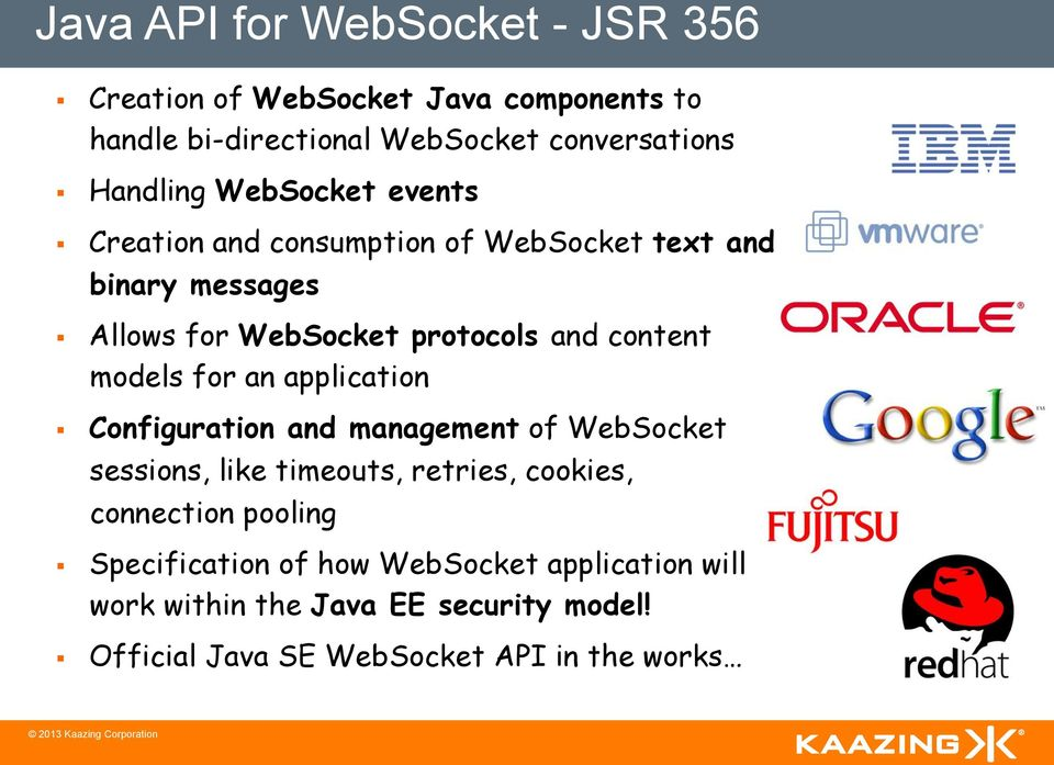 Websocket Java Api