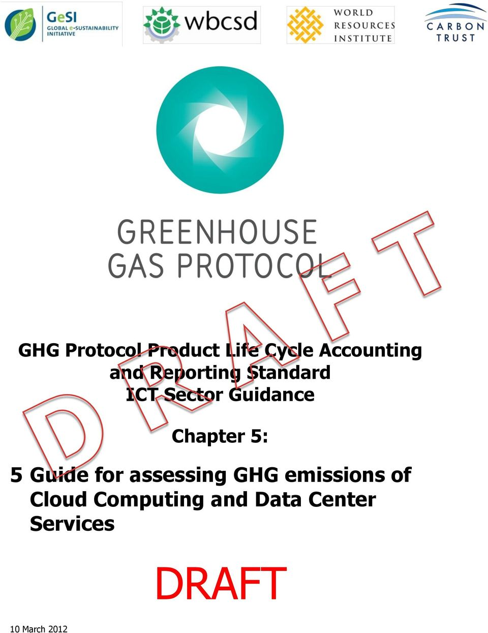 : Guide for assessing GHG emissions of Cloud
