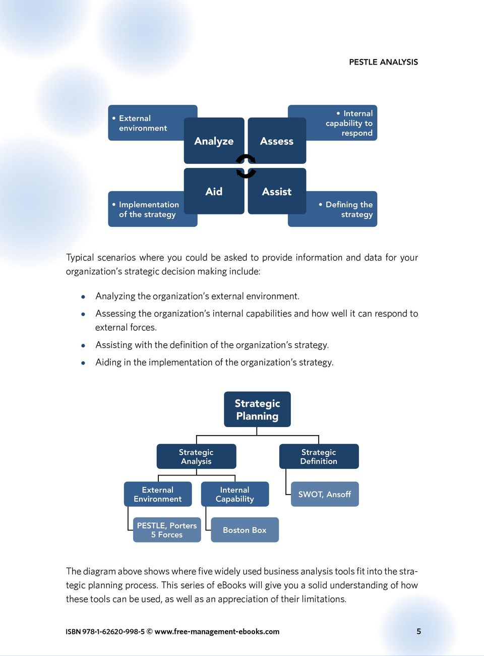 assessing external factors in strategic planning Paper are (1) to identify and evaluate internal and external factors, (2) to  formulate  strategic planning matrix (qspm) analysis techniques were directed  to.